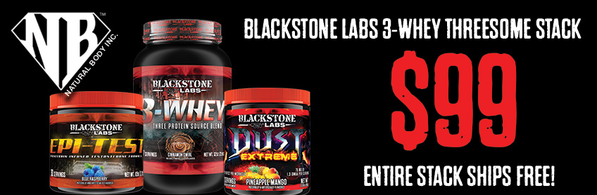 Blackstone Labs 3-Whey Stack
